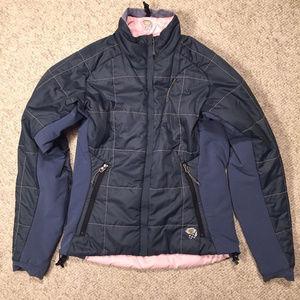 Mountain Hardwear Pink Gray Reversible Jacket 6